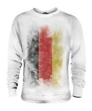 Allemagne Décoloré Drapeau Unisexe Pull Football Allemand Cadeau T-Shirt