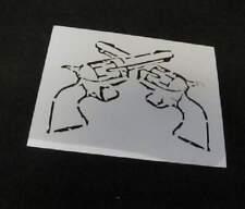 STENCIL Pistols Guns Wild West Quilt Airbrush Paint Art SIGN L243