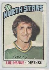 1976-77 O-Pee-Chee #173 Lou Nanne Minnesota North Stars Hockey Card