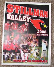 2008 Stillman Valley Illinois Cardinals  2008 Fall Sports Program Football Band