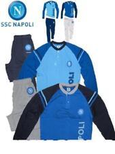 Pigiama ragazzo lungo pantalone + maglia ufficiale Napoli calcio *15704