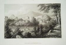 Bad Gleichenberg Feldbach Steiermark Österreich alter Stahlstich 1844