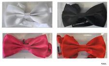 Fliege unifarben Halsbinder Farbwahl schwarz weiß pink rot