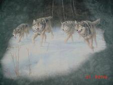 Wolf  Husky Malamute-Dog-Tye Tie Dye T Shirt-XL