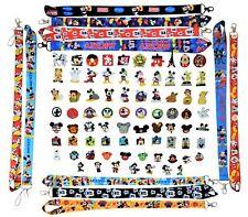 Mickey Mouse Themed Lanyard and 5 Pin Set Walt Disney World Trading ~ Brand NEW