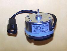 Mabuchi Motor RF-520 9v - 15v dc SOLAR 5,500 RPM, 12v 12 VDC 12VDC RF-500 Series