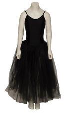 Black Swan Halloween Fancy Dress Romantic Ballet Dance Tutu Costume By Katz