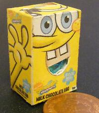 Une boîte vide oeuf de Pâques poupées maison des sucreries Accessoire Sponge Bob