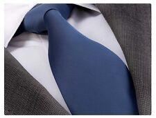 PETROL BLUE SILK TIE  (& HANKY) - ITALIAN DESIGNER Milano Exclusive