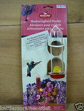 Perky Pet Hanging Basket Planter Box Small Hummingbird Feeder w/ Stake 3oz