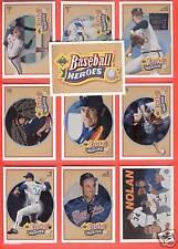 NOLAN RYAN Upper Deck Baseball 10 Card Heroes Set