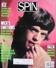 ROLLING STONES  8/86 Spin Mag METALLICA  THE RAMONES