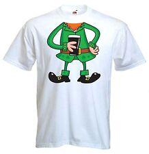 LEPRECHAUN FANCY DRESS T-SHIRT - St. Patricks Day Ireland Irish Outfit Costume