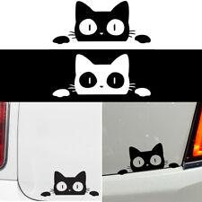 Car Styling Bumper Funny Surprise Cat Peeking Car Sticker Vinyl Vehicle Decal