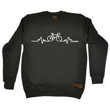 Cycling Sweatshirt Bike Pulse Original jumper top funny BirthdayJUMPER