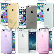"Pellicola+Custodia AIR cover ultra sottile per Apple iPhone 6 4.7"" 6S case TPU"