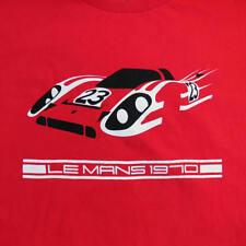 PORSCHE 917 1970 LeMANS 24 HOURS RACE WINNER SHIRT KG SALZBURG RESPORT 917K