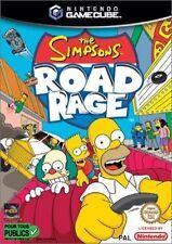 Nintendo Gamecube Spiel-The Simpsons Road Rage-guter Zustand-komplett