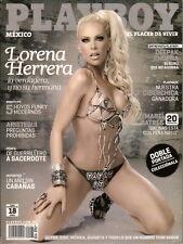 Playboy - Mexiko - 03/2011 - Lorena Herrera - Ciberchica - Cover 1 - Neu - OVP