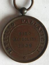antica medaglia al merito istituto pallavicini a Roma 1892