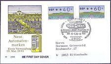 BRD 1993: ATM-FDC der Nr. 2 1.2! Stempel von Dortmund!