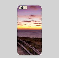 Ocean View puesta de sol paisaje nocturno teléfono caso para IPhone HTC Samsung Sony LG Huawei