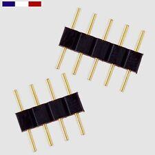Accessoire ruban led RVB RGB RVBB RGBW Connecteur 4 Ou 5 pins Male/Male par lots