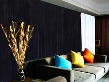 large velvet curtain black 300x230cm with 2m blockout15 hooks new