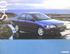Volvo S40 Saloon 1.8i 2.0i Std SE CD 1996-97 Original UK Sales Brochure 90009951