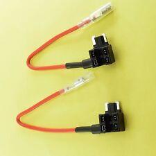 2 X circuito fusible titular agregar a AP ATT ACN Micro Hoja Piggy Tap Coche Moto