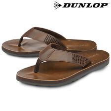 Dunlop Mens Sandals Flip Flops Slip On Holiday Pool Sliders Toe Post Sizes 7-12