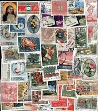 ITALIE COMMEMORATIFS - ITALY LARGE collections de 50 à 500 timbres différents