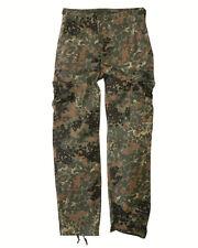 US RANGER pantaloni tipo BDU FLECKTARN, campeggio, all'aperto, MILITARE -NUOVO