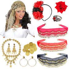 Wahrsagerin Accessoires Zubehör Kostüm Damen Zigeunerin Fasching Karneval Münzen