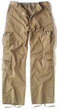 ROTHCO 2686 Vintage Khaki Army Paratrooper Pants Tactical Military BDU Fatigue