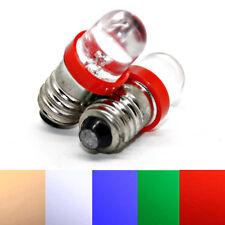 1-10x 6V 12V E10 EY10 LED Schraubsockel Weihnachtsbeleuchtung