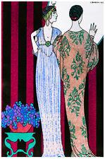 Vintage POSTER.Stylish Graphics.Deco Ladies Fashion.Room House Art Decor.712i