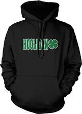Hooligan Shamrock Clover Irish Ireland St Patrick Day Hoodie Pullover Sweatshirt