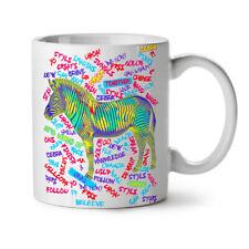 Zebra Animal Zoo Fashion NEW White Tea Coffee Mug 11 oz | Wellcoda
