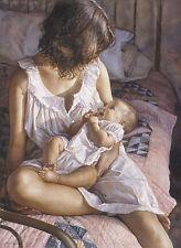 Steve Hanks IN THE EYES OF THE INNOCENT, Mother & Child, art print