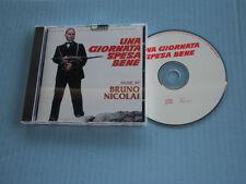 UNA GIORNATA SPESA BENE limited edition for collectors -1 CD- MORRICONE- (D35)