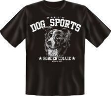 T-Shirt Shirts mit Hund geil bedruckt - Dog Sports - Border Collie - Geschenk