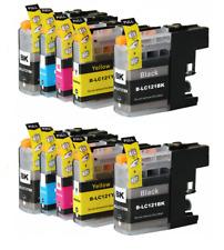 Cartuchos de tinta non oem para Brother LC123Bk, LC123C, LC123M, LC123Y