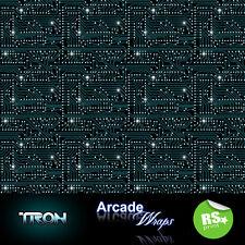 TRON CIRCUIT DESIGN ARCADE MACHINE Wrap Adesivo giochi retrò tema Grandi Taglie