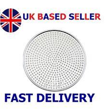 """6"""" to 18"""" Heavy Duty Mega Pizza Screen Aluminium Perforated Pan Baking Tray Supe"""