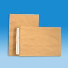Versandtaschen B5 mit Haftklebung - 90 g/qm - Briefumschläge B5 - Farbe braun