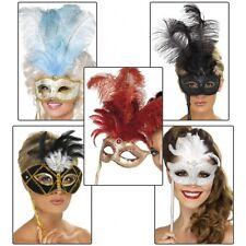 Masquerade Masks Womens Venetian Halloween Costume Accessory Fancy Dress