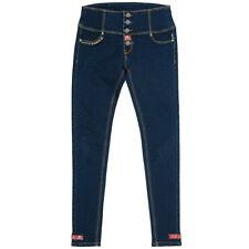 Rusty Pistons Rockabilly Vintage Punkabilly Damen Jeans Hose - Schwalben Alma