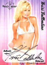 BENCHWARMER KRISI BALLENTINE AUTO AUTOGRAPH CARD 2006
