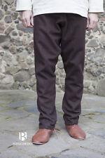 MEDIOEVO thorsberghose lana pantaloni VICHINGO / Larp - Marrone von